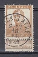 113 Gestempeld COUCKELAERE - COBA 8 Euro - 1912 Pellens