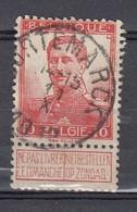 111 Gestempeld CORTEMARCK - COBA 8 Euro - 1912 Pellens