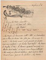 VP13.344 - MILITARIA - 1934 - Lettre D'Amour D'un Artilleur Du 8ème Régiment D'Artillerie à NANCY - Récit - Documents