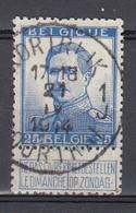 120 Gestempeld KORTRIJK - COURTRAI 1 J - 1912 Pellens