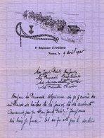 VP13.347 - MILITARIA - 1935 - Lettre D'Amour D'un Artilleur Du 8ème Régiment D'Artillerie à NANCY - Récit - Documents