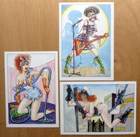 "HARRY BUCKINX    : "" PIN-UPS "" - EROTISME - (x 3) - Comics"