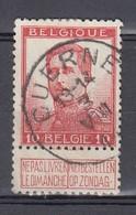 118 Gestempeld CUERNE - COBA 8 Euro - 1912 Pellens
