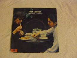 817 254 7 JOHN LENNON Nobody Told Me - Rock