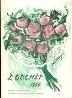 POESIA - 'l BOCHET 1969  (poesie Piemontesi Con Copertina Di Franco Martinengo) - Livres, BD, Revues