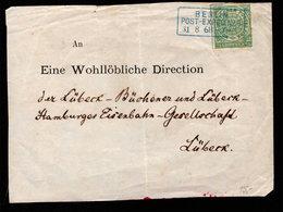 NORTH GERMAN CONFEDERATION 1868 1/3g GREEN ON PIECE - Norddeutscher Postbezirk