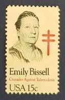 1980 Emily Bissel,  United States Of America,USA, Used - Etats-Unis