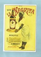 Publicité  RUM  Negrita JOLIE CARTE - Publicités