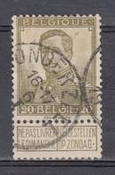112 Gestempeld LONDERZEEL - COBA 8 Euro (zie Opm) - 1912 Pellens