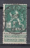 110 Gestempeld LONDERZEEL - COBA 8 Euro - 1912 Pellens