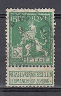 110 Gestempeld LOO-TEN-HULLE - COBA 15 Euro - 1912 Pellens