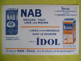 Buvard Poudre A Nettoyer NAB Lyon - Buvards, Protège-cahiers Illustrés
