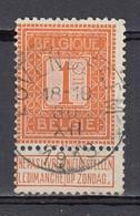 108 Gestempeld LOVENDEGEM - COBA 8 Euro - 1912 Pellens