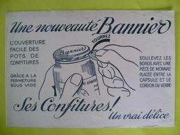 Buvard Une Nouveauté Bannier Les CONFITURES - Buvards, Protège-cahiers Illustrés