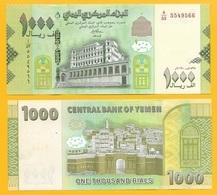 Yemen 1000 Rials P-new 2017 (2018) (1) UNC - Yémen