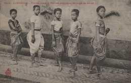 ASIE ASIA INDOCHINE CAMBODGE COLONIES FRANCAISES PHNOM PENH CORPS DE BALLET - Kambodscha