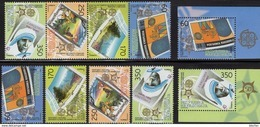 EUROPA 2006 Makedonia 370/3,4-ZD+2x ER ** 80€ Park/Mutter Teresa Stamps On Stamp Ss Bloc Se-tenant Bf 50 Jahre CEPT - Timbres