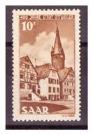 SAAR/SARRE -  1950 - 4° CENTENARIO DELLA CITTA' DI OTTWEILER LIEVE DIFETTO.-  MNH** - 1957-59 Federazione