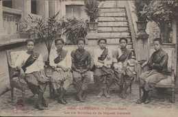 ASIE  INDOCHINE CAMBODGE COLONIES FRANCAISES PHNOM PENH  PNOM PENH FAVORITES DE SA MAJESTE SISODATH édit DIEULEFILS - Cambodia