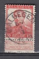 111 Gestempeld MALDEGEM - COBA 4 Euro - 1912 Pellens