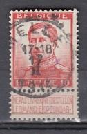 123 Gestempeld MELLE - COBA 4 Euro - 1912 Pellens