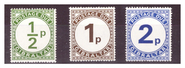 GIBRALTAR - 1971 -  POSTAGE DUES. COMPLETE SET.  - MNH** - Gibraltar