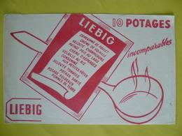 Buvard  Potages LIEBIG - Buvards, Protège-cahiers Illustrés
