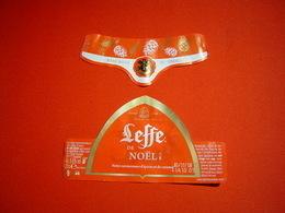 ETIQUETTE BIERE / ABBAYE DE LEFFE / NOEL / BELGIQUE - Beer