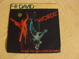 49963 F.R. DAVID Words - Rock