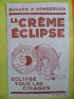 Buvard  La Crème éclipse Tous Les Cirages - Buvards, Protège-cahiers Illustrés