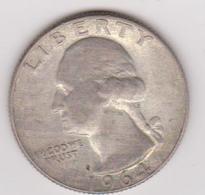 1964 Stati Uniti - 25c AG Circolata (fronte E Retro) - Emissioni Federali