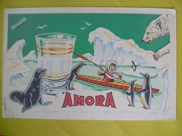 Buvard  Moutarde AMORA - Buvards, Protège-cahiers Illustrés