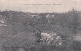 BAZAS Vue Générale Prise Du Viaduc Du Chemin De Fer - Bazas