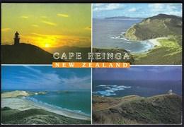 New Zealand / Cape Reinga / Sunset, Taputupoto Bay, Cape Maria Van Diemen, Lighthouse, Columbia Reef - New Zealand