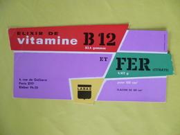 Buvard  ELIXIR Vitamine B12 - Buvards, Protège-cahiers Illustrés