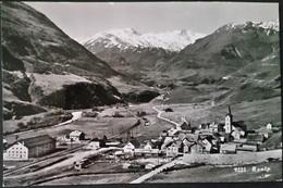 Ak Schweiz - Realp - Panorama - UR Uri