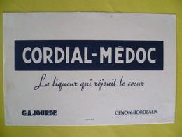 Buvard  CORDIAL MEDOC La Liqueur Qui Réjouit Le Coeur CENON  BORDEAUX - Buvards, Protège-cahiers Illustrés