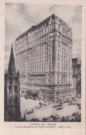 HOTEL ST. REGIS Fifth Avenue At 55th Street, New York - Cafés, Hôtels & Restaurants