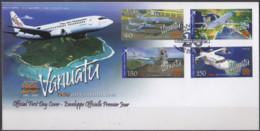 VANUATU - 20e Anniversaire De La Compagnie Air Vanuatu FDC - Vanuatu (1980-...)