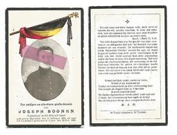 WO 63. JOSEPH BOONEN - Vrijwilliger In Belgisch Leger - ° BRUSTEM 1896 / Gestorven Voor Vaderland In CALAIS 1918 - Imágenes Religiosas