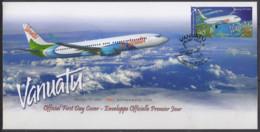VANUATU - Avion 2008 FDC - Vanuatu (1980-...)