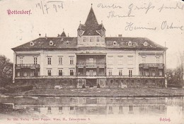 AK Pottendorf - Schloß - 1901 (37677) - Baden Bei Wien