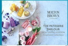 F- Carte Molton Brown - Perfume Card -  USA - Cartes Parfumées