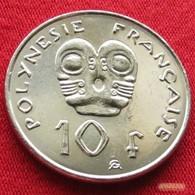 French Polynesia 10 Francs 2003 KM# 8  Polynesie Polinesia - Polynésie Française