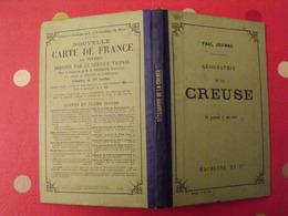 Géographie Du Département De La Creuse. Joanne. Hachette. 1907. 17 Gravures - 1901-1940