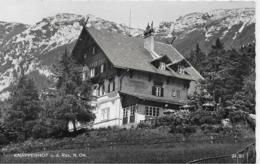 AK 0079  Knappenhof ( Reichenau An Der Rax ) - Verlag Ledermann Um 1961 - Raxgebiet