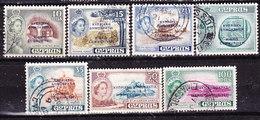 Cipro 1960 Serie Non  Completa  Usata - Zypern (...-1960)
