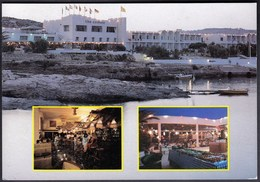 Malta 1992 / Hotel Comino / By Night, Restaurant , Bar - Malta