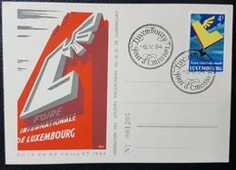 Luxembourg 1954- Foire Internationale De Luxembourg - Herdenkingskaarten
