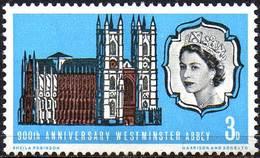 GREAT BRITAIN 1966 900th Anniversary Of Westminster Abbey (phosphor) - 1952-.... (Elizabeth II)